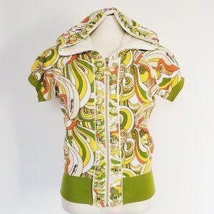 60's Style Towel Hoodie (S/M)